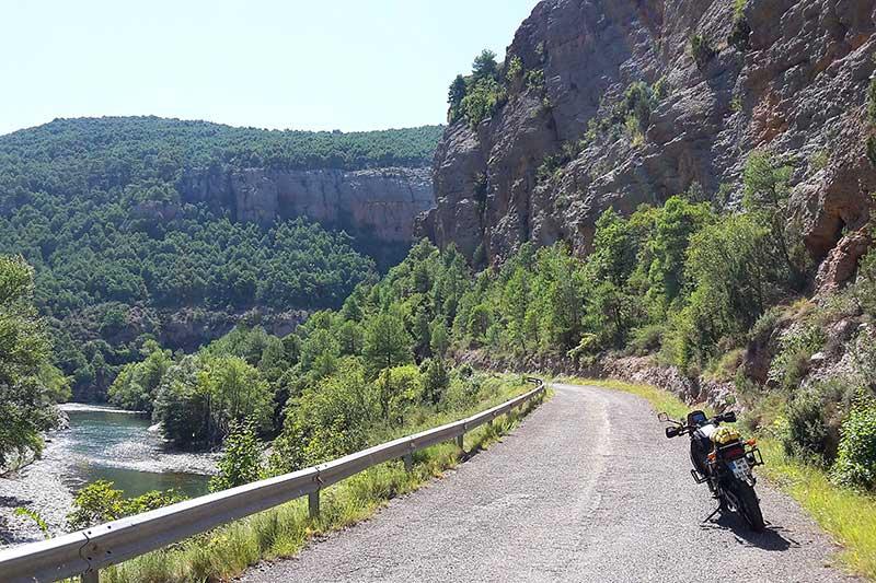 Motorradreise Pyrenäen